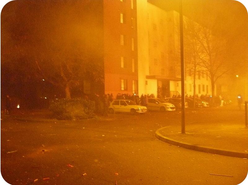 Quartier Drouot - Feu de palettes Nouvel An 3