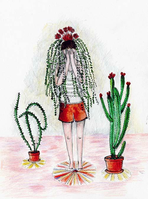 plantes cachées