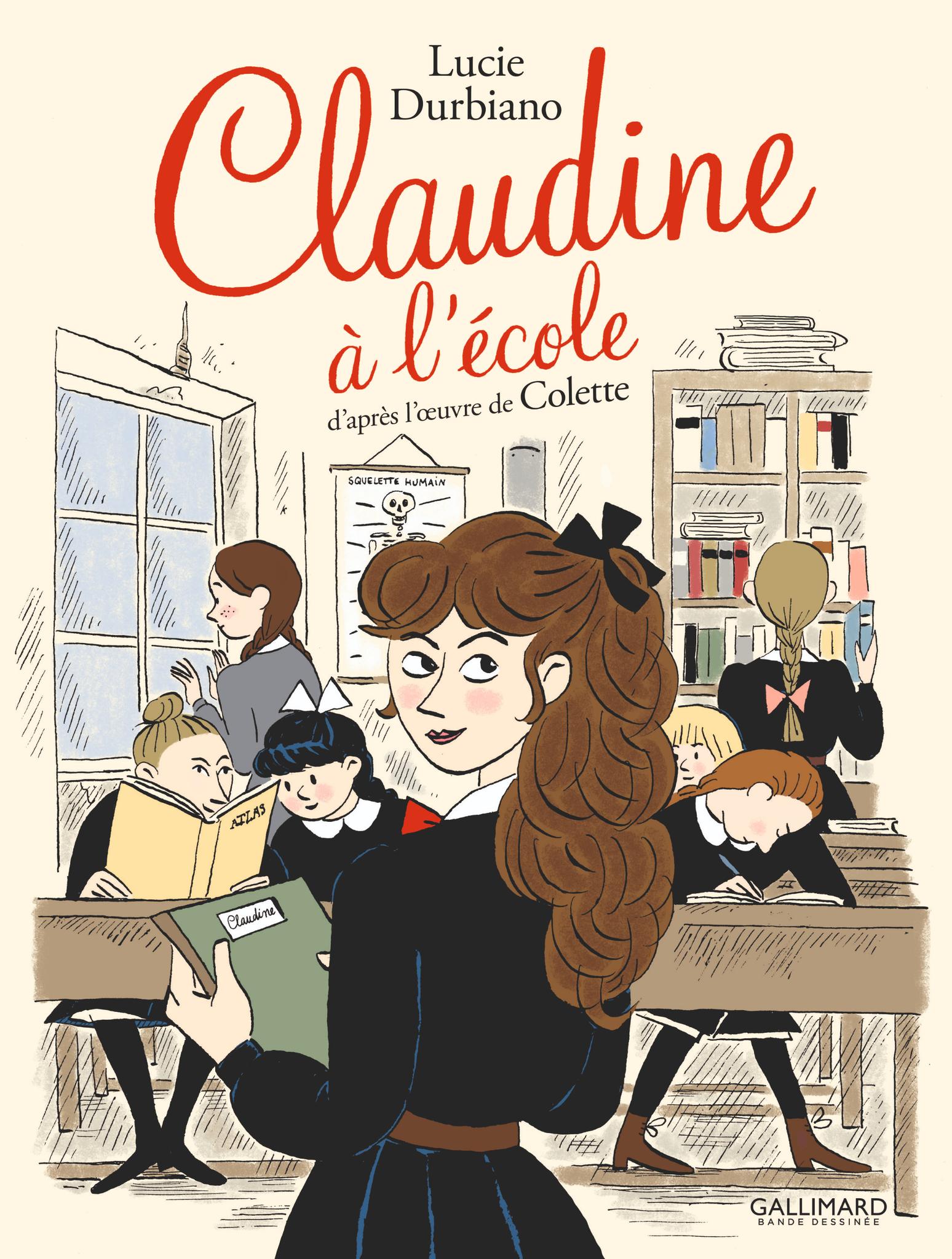 Claudine à l'école, par Lucie Durbiano
