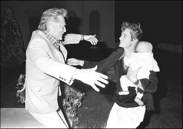 1979Kirk DOUGLAS,Michael DOUGLAS, Cameron DOUGLAS 1979