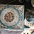 Vintage Ceramic India Elephant