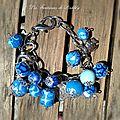 Ondes Bleues, Bracelet 15€ [VENDU]