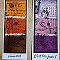 Cartes palette