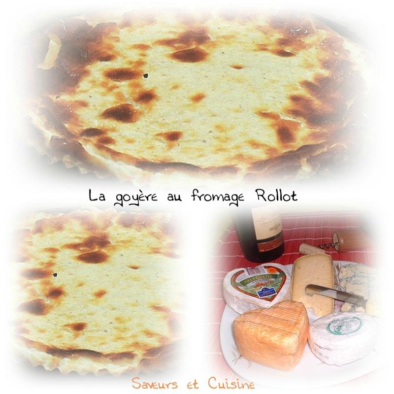 La goyère au fromage Rollot