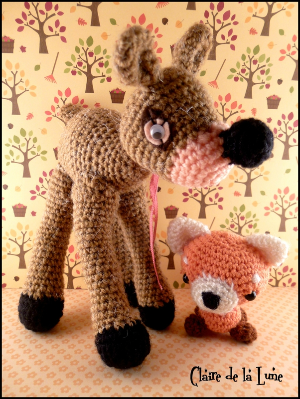 faon et renard crochet 2
