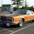 Lincoln continental mark V hardtop coupe de 1977 (Rencard du Burger King juillet 2010) 01