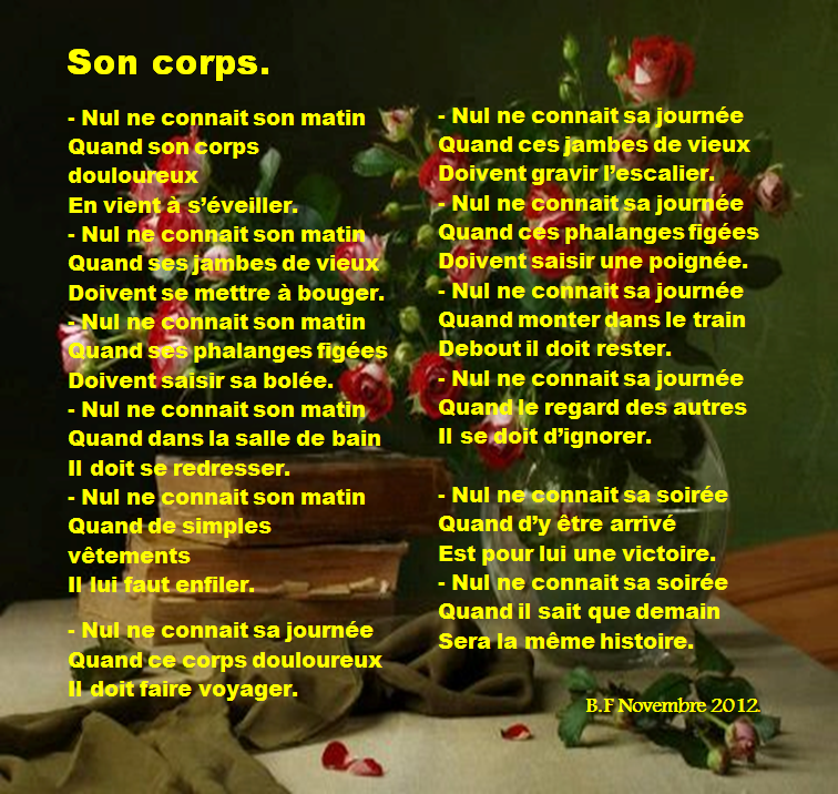 Son corps
