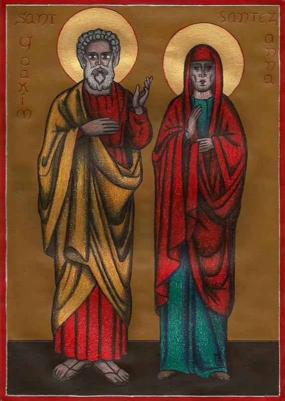 Santez Anna ha Sant Yoakim