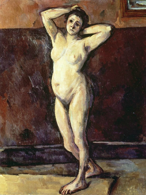 Standing Nude, c