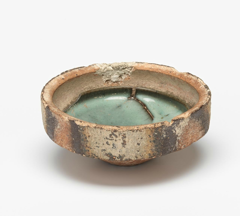 Bowl in a sagger, Northern Song dynasty 960 CE-1127, Jun ware