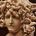 Baroque masterpiece the medusa by gian lorenzo bernini @ the legion of honor in san francisco