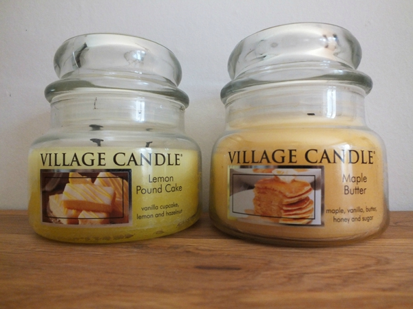 5 Bougies Village Candle Lemon Pound Cake Mapple Butter