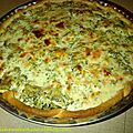 Quiche saumon-brocoli-boursin