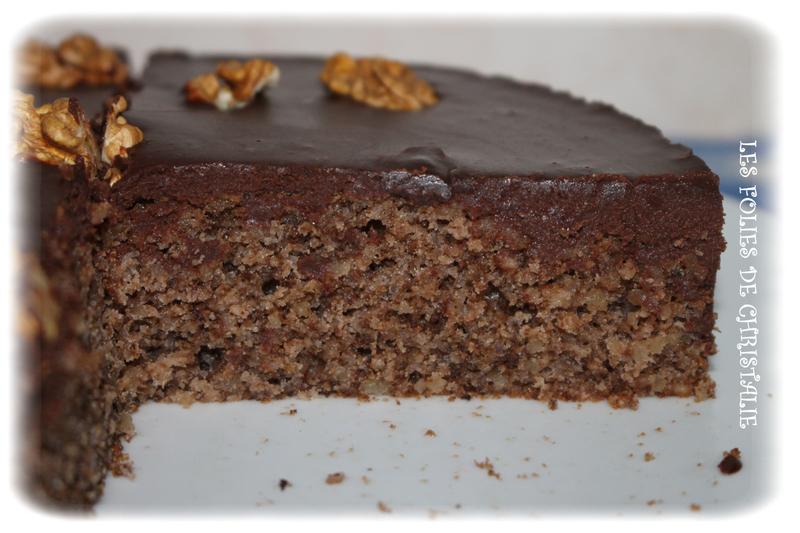 Gâteau choco-noix 14