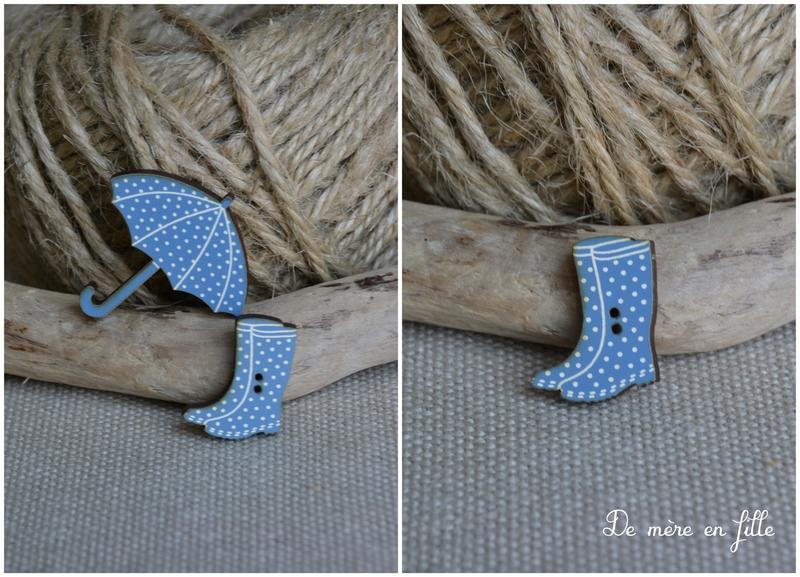 petites bottes bleues