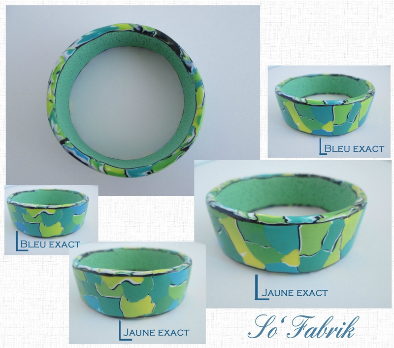 Bracelet esclave aquarelle 1