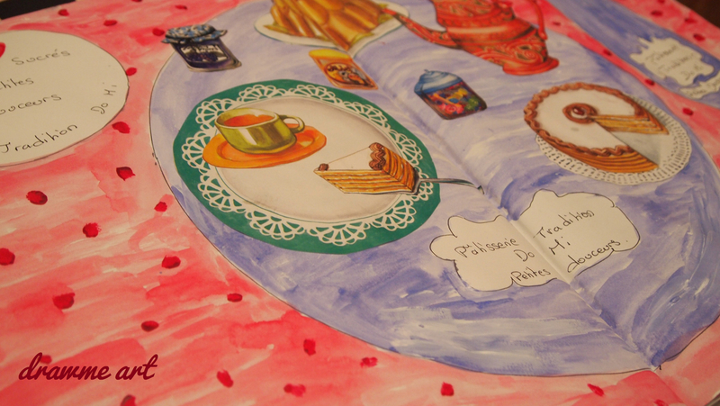 art journal theme douceur drawme art1