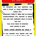 Vide grenier 2014: nous avons besoin de vous!