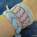 bracelet recup tee shirt lilybouticlou