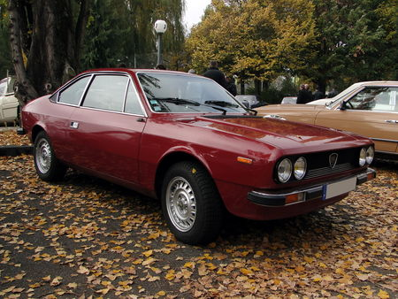 LANCIA Beta 1600 Coupe Retrorencard 1