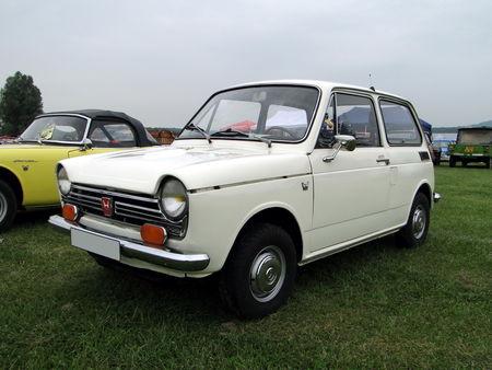Honda n600 1972 Retro meus Auto Lac de Madine 2010 2