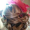 coiffure fleurie