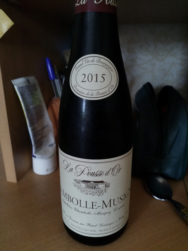 pousse d'or 2015 chambolle