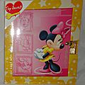 Minnie Mouse Journal intime
