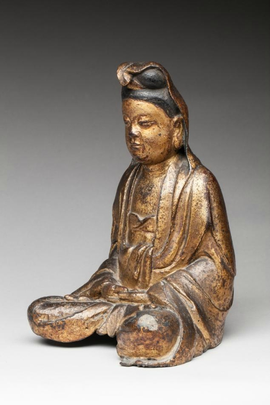 Small Bronze Sculpture Asie Chine Asian Antiques