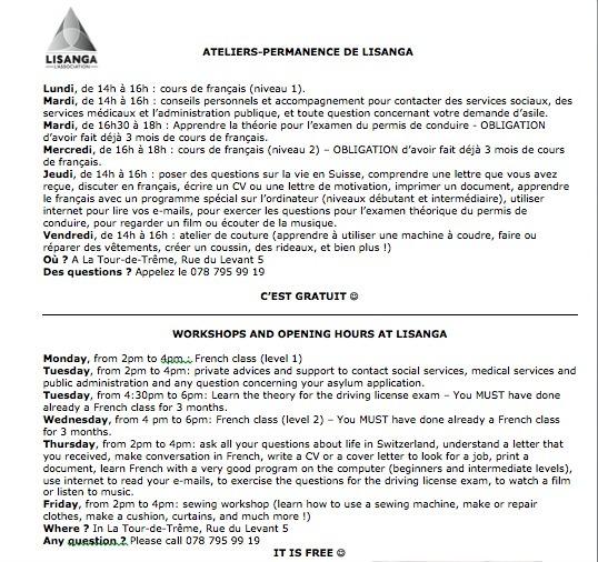 Lisanga_Programme 2018-9