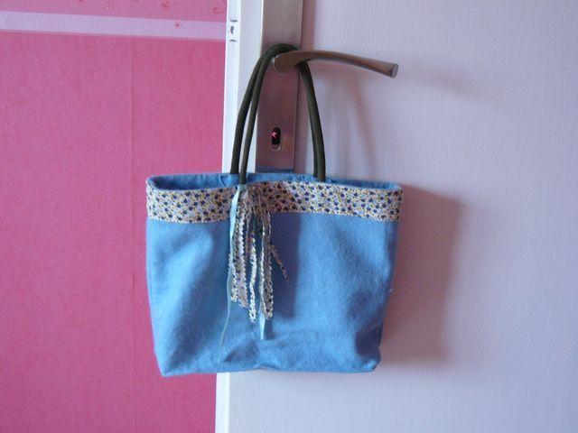 Mini sac à main, modèle maison