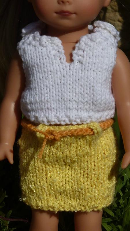 jupe jaune 2
