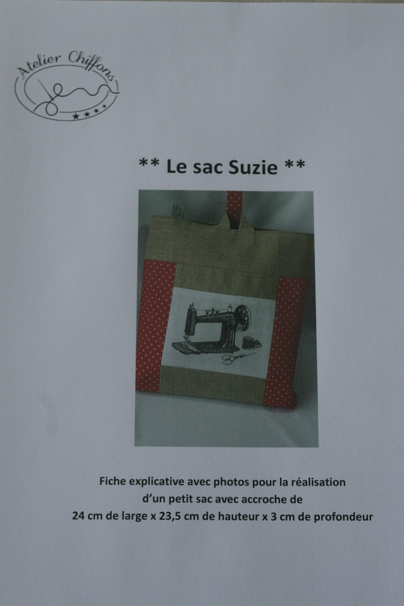 Fiche couture : le sac Suzie