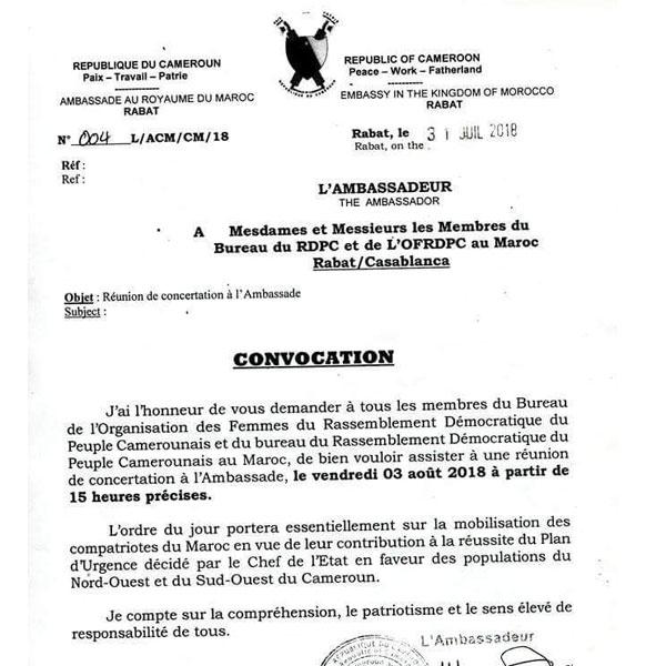 Cameroun : Une république prise en otage par le RDPC