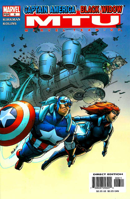marvel team-up 2005 06 captain america & black widow