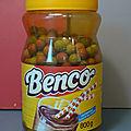 Benco, un ancien pot de chocolat dont le contenu est étonnant ! des billes en terre et de sacrées parties en jeu !