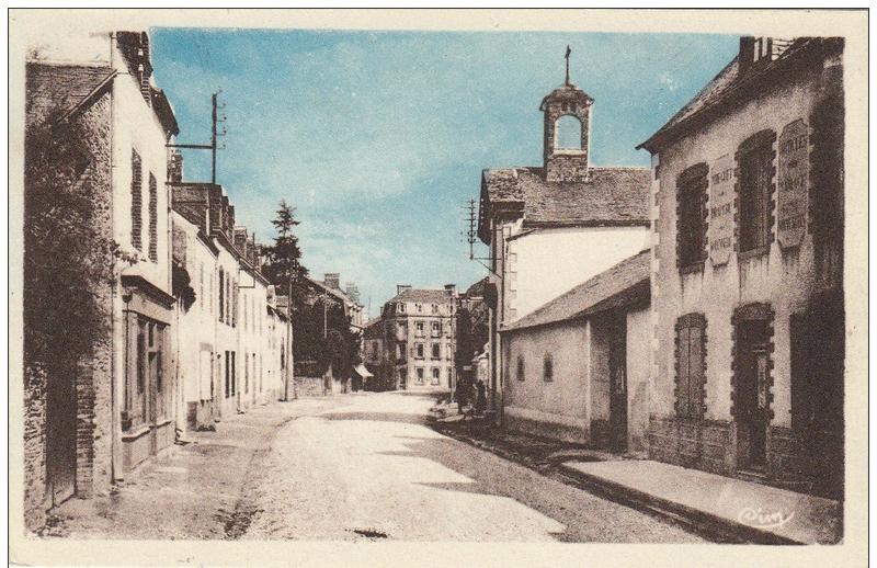 CPA rue Sainte Anne_4