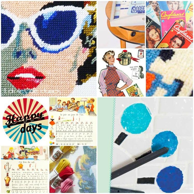 vintage style_années 50_créations_inspiration_editionS Tutti Frutti_4 Droles de Dames