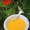 Soupe carotte-courgette-pomme de terre - à partir de 6 mois