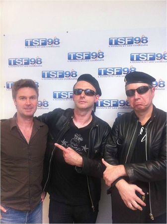 proXima on TSF98 radio with the Film Director Olivier Benel
