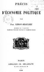 Leroy-Beaulieu Précis éco po couv