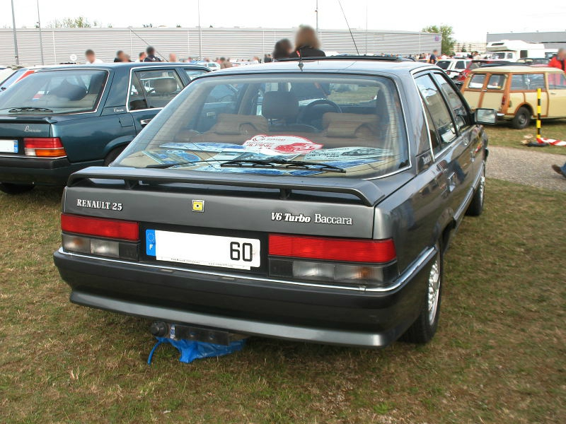 Renault 25 Baccara V6 Turbo 1990 1992 Autos Croises