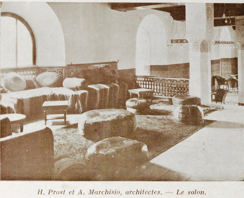 Mamounia_Prost-et-marchisio-architectes-Les_Chantiers_nord-africains-1929
