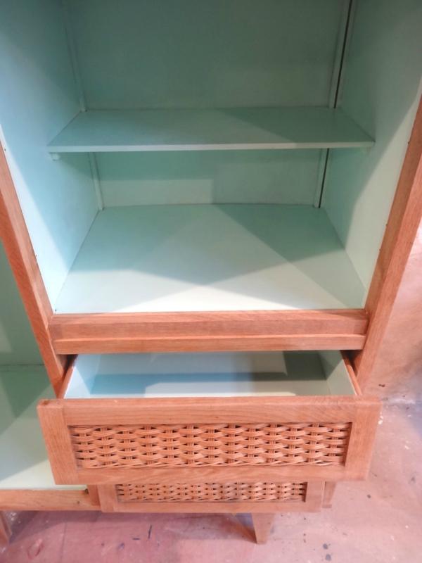 armoire annees 60 detail