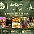Bollywood on light / dimanche 23 février 2014