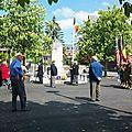 Commémoration de la libération des camps Nazis.