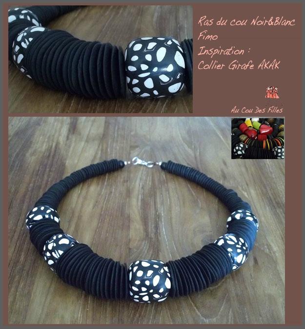 Collier Noir&Blanc