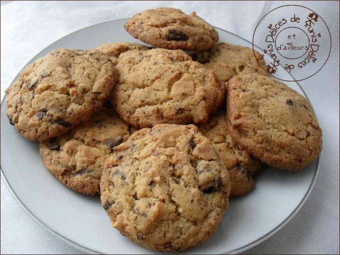 cookies choco-cacahuètes 2