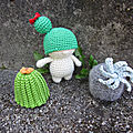 Test crochet - cactus dude...