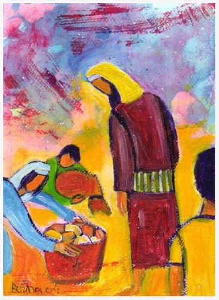Le pain multiplié, Berna Lopez